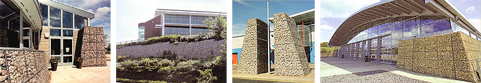 Gabion system – different areas of use